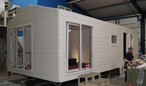 mobilheim winterfest kaufen neu kunertgroup luxus. Black Bedroom Furniture Sets. Home Design Ideas